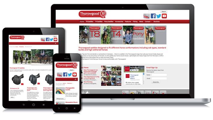 Thorowgood.com Web Design